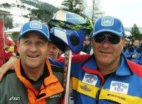 Helmut Klingenschmid mit Organisator Bartl Gensbichler